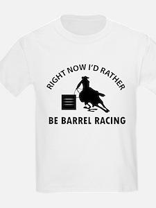 I'd Rather Be Playing Barrel Ra T-Shirt
