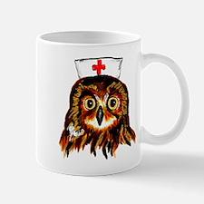 Nurse owl Mugs