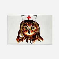 Nurse owl Magnets