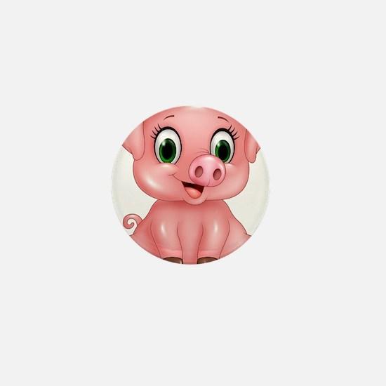 Piggie Mini Button