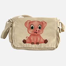 Piggie Messenger Bag