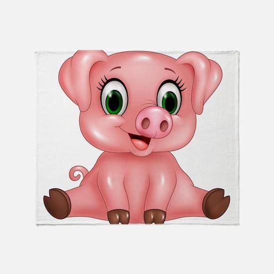 Piggie Throw Blanket