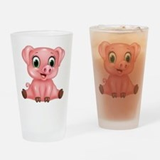 Piggie Drinking Glass