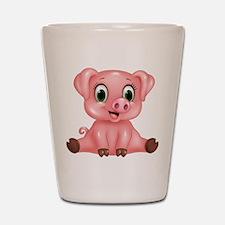Piggie Shot Glass