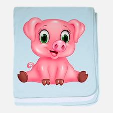 Piggie baby blanket