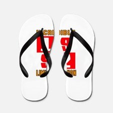 Incredible 1992 Limited Edition Flip Flops