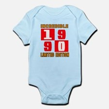 Incredible 1990 Limited Edition Infant Bodysuit