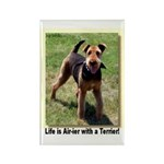 Airdale Terrier Magnet