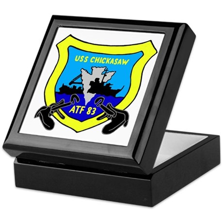 USS Chickasaw (ATF 83) Keepsake Box