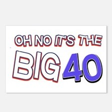 Oh No It Is The Big 40 Postcards (Package of 8)