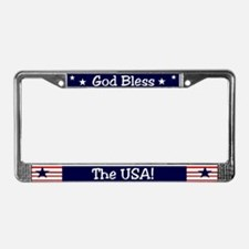 God Bless the USA License Plate Frame