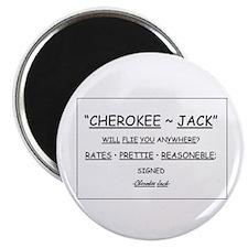 Cherokee Jack Magnet