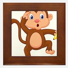 Monkeying around Framed Tile