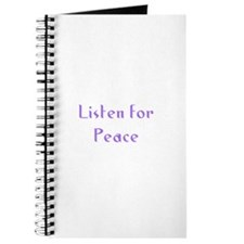Listen for Peace Journal