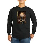 Queen & Rottie Long Sleeve Dark T-Shirt