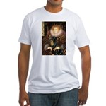 Queen & Rottie Fitted T-Shirt