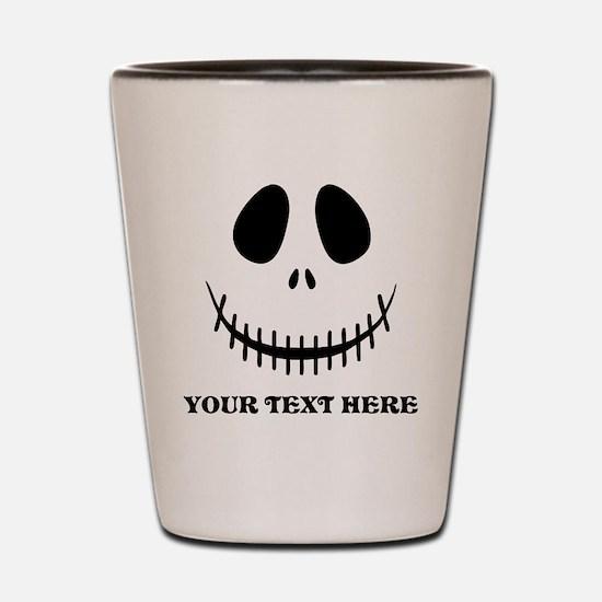 Custom Halloween Skeleton Shot Glass