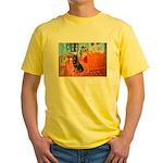 Room / Rottweiler Yellow T-Shirt