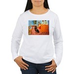 Room / Rottweiler Women's Long Sleeve T-Shirt