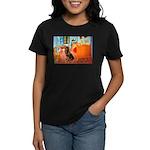 Room / Rottweiler Women's Dark T-Shirt