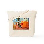 Room / Rottweiler Tote Bag