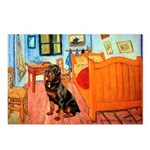 Room / Rottweiler Postcards (Package of 8)