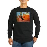 Room / Rottweiler Long Sleeve Dark T-Shirt