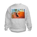 Room / Rottweiler Kids Sweatshirt