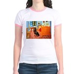 Room / Rottweiler Jr. Ringer T-Shirt