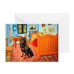 Room / Rottweiler Greeting Cards (Pk of 10)