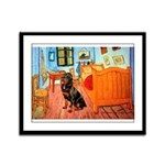 Room / Rottweiler Framed Panel Print