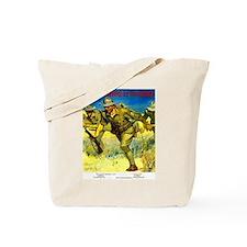 Army Men Tote Bag