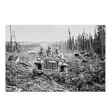 WW2 Alaska jeep (Package of 8)