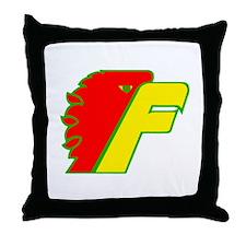 Cute Firebird Throw Pillow