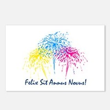 """""""""""Happy New Year"""" (Latin) Postcards (Package of 8)"""