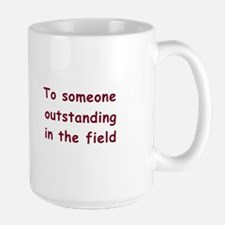 """To Someone Outstanding"" Cow Mug"