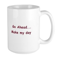 "Cow Mug - ""Make My Day"""