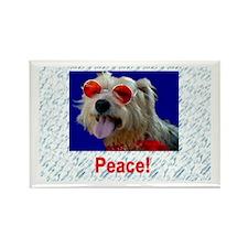 Peace Terrier - Magnet