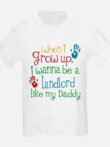 Landlord Like Daddy T-Shirt