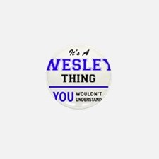 WESLEY thing, you wouldn't understand! Mini Button