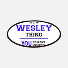 WESLEY thing, you wouldn't understand! Patch