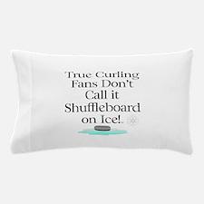 Curling Slogan Pillow Case