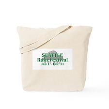Seattle Sun and Rain Festival Tote Bag