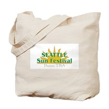 Seattle Sun Festival Tote Bag