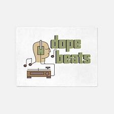 Dope Beats 5'x7'Area Rug