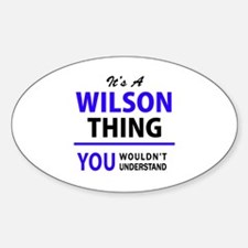WILSON thing, you wouldn't understand! Decal