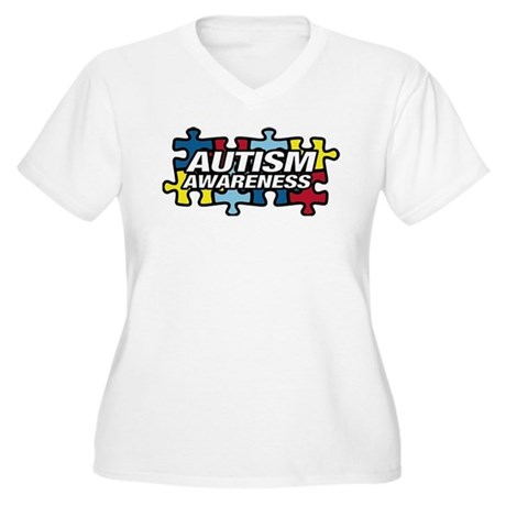autism-puzzle Plus Size T-Shirt