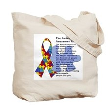 Cute Autism Tote Bag