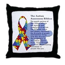 Cute Kids autism awareness Throw Pillow
