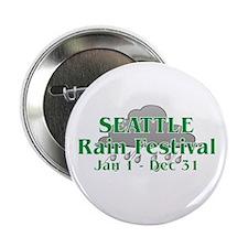 Seattle Rain Festival Button